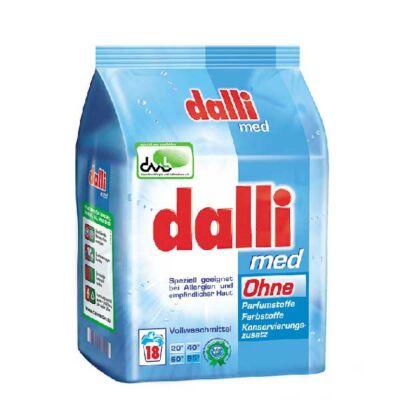 Dalli med hipoallergén mosószer erősen szennyezett ruhákhoz 18 mosás 1,215 kg