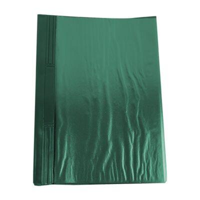Gyorsfűző FORTUNA pvc kemény zöld
