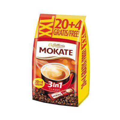 Kávé instant MOKATE 3in1 Classic 24x17 g