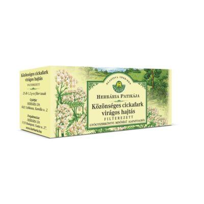 Herbatea HERBÁRIA közönséges cickafark 25x1,2g