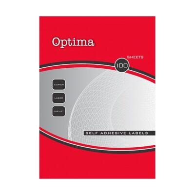 Etikett OPTIMA 32083 70x16,9mm 5100 címke/doboz 100 ív/doboz