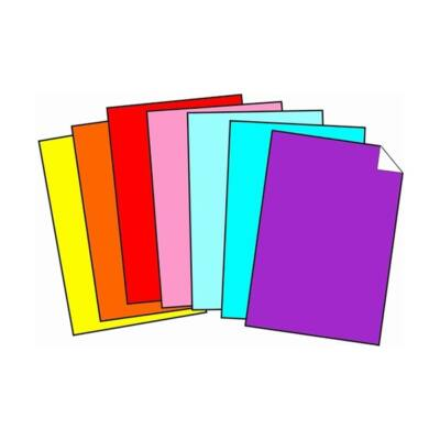 Dekorációs karton 50x70 cm 350 gr világoskék 50 ív/csomag