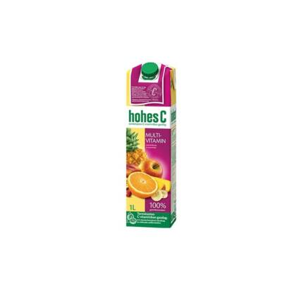 Gyümölcslé HOHES C Classic multivitamin 100%-os 1L
