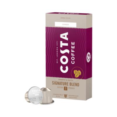 Kávékapszula COSTA Nespresso Signature Blend Lungo 10 kapszula/doboz