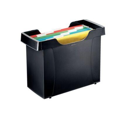Függőmappa tartó LEITZ Plus fekete