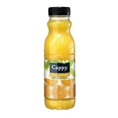 Gyümölcslé CAPPY Narancs gyümölcshússal 100%-os 0,33L