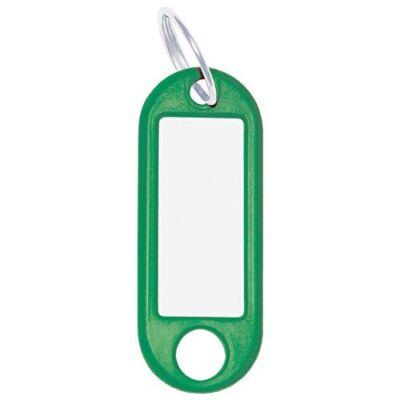 Kulcsjelölő biléta WEDO 10db-os zöld