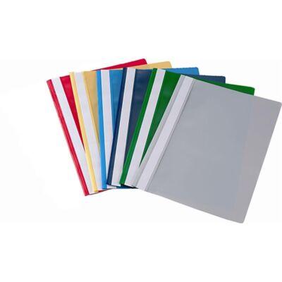 Gyorsfűző FORTUNA műanyag sötétzöld 10 db/csomag