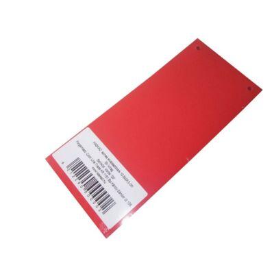 Elválasztócsík KASKAD 105x240mm 160 gr 29 vörös 50 db/csomag
