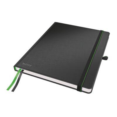 Jegyzetfüzet LEITZ Complete ipad 80 lapos vonalas fekete