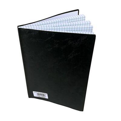 Beírókönyv A/5 pvc 100 lapos kockás