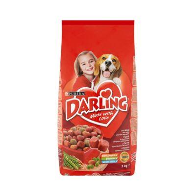 Állateledel száraz PURINA Darling kutyáknak hússal és zöldséggel 3kg