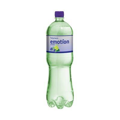 Ásványvíz szénsavas NATURAQUA Emotion szeder-lime  Zero 1,5 L