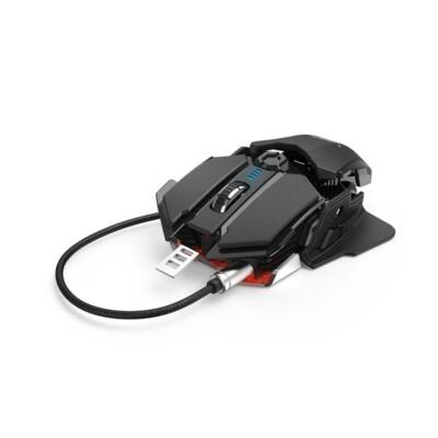 Egér vezetékes HAMA uRAGE XGM 4400-MC2 USB 9 gombos 4400 DPI fekete
