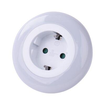 Éjjeli fény EMOS LED dugaljjal fényérzékelővel fehér