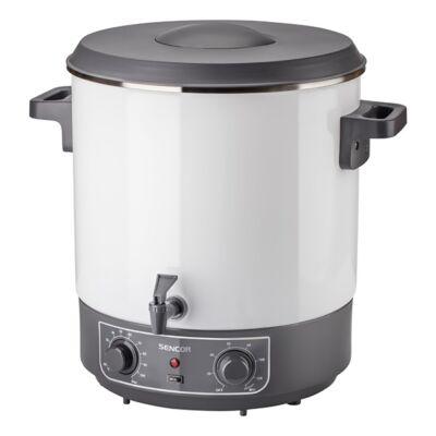 Elektromos főzőedény SENCOR SPP 2100WH 1800W 27 liter fehér