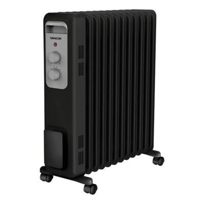 Elektromos olajradiátor SENCOR SOH 3311BK 2300W 3 fokozatú fekete