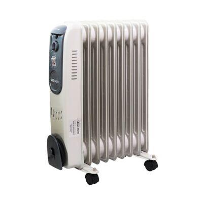 Elektromos olajradiátor TOO OFR-9-2000-121 2000W 2 fokozatú szürke