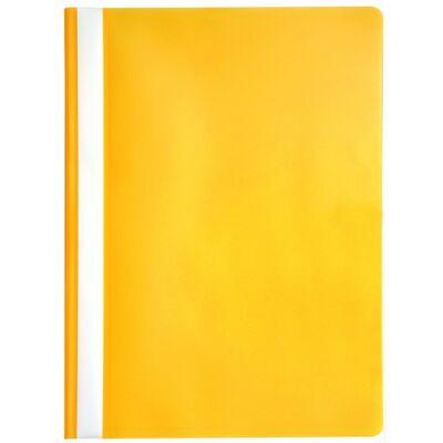 Gyorsfűző OPTIMA A/4 műanyag sárga