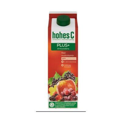 Gyümölcslé HOHES C Plus red magnesium 100%-os 1L