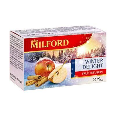 Gyümölcstea MILFORD Téli örömök(alma-fahéj) 20x2,5g