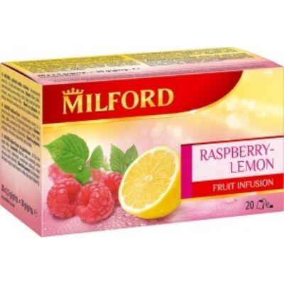 Gyümölcstea MILFORD málna-citrom 20x2,5g