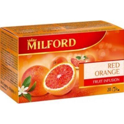 Gyümölcstea MILFORD vérnarancs 20x2,5g