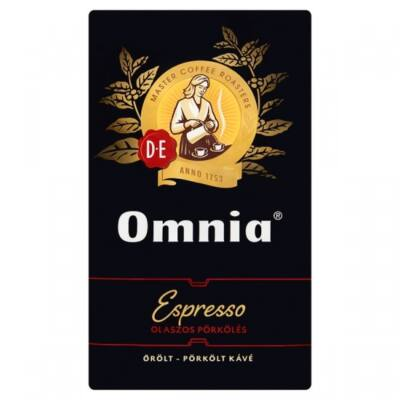 Kávé őrölt DOUWE EGBERTS Omnia Espresso 1000g