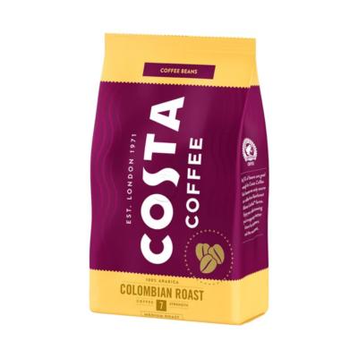 Kávé szemes COSTA Columbian Roast 0,5kg