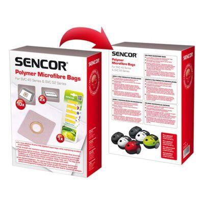 Papírzsák porszívóba SENCOR SVC 45 + 2 mikroszűrő + 5 illatosító