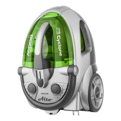 Porzsák nélküli porszívó SENCOR SVC 730GR 800W ECO szűrős zöld