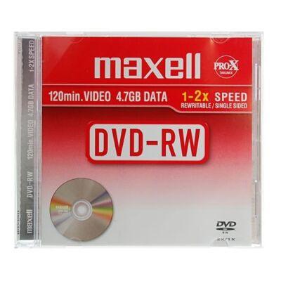 ÚJRAÍRHATÓ DVD-RW MAXELL 4,7GB 1-2X